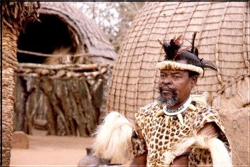 african zulu chief pictures