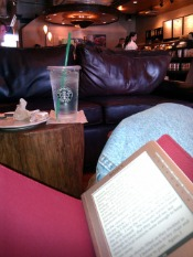 sony reader in starbucks