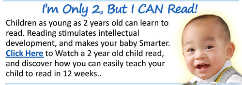 Teach Children to Read in 12 weeks, even as young a 2 ...