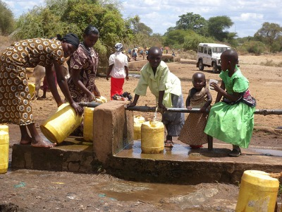 africa poverty clean community water